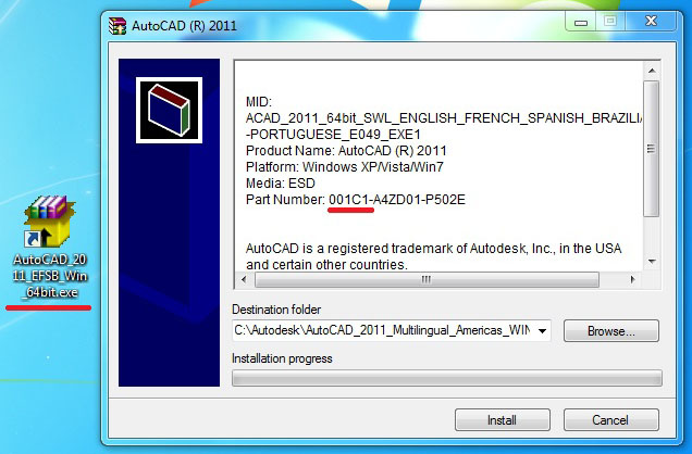 autocad architecture 2011 serial number and product key