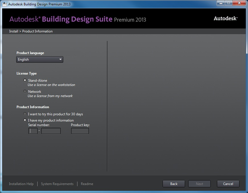 Autodesk AutoCAD Design Suite Standard 2013 license