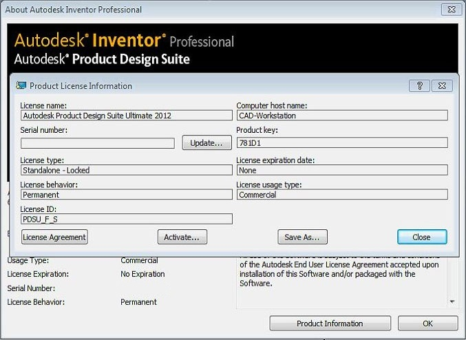 autocad electrical 2012 serial number product key