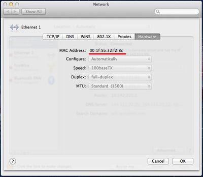 Network-mac
