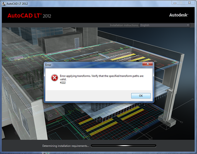 Autocad-lt-install-issue