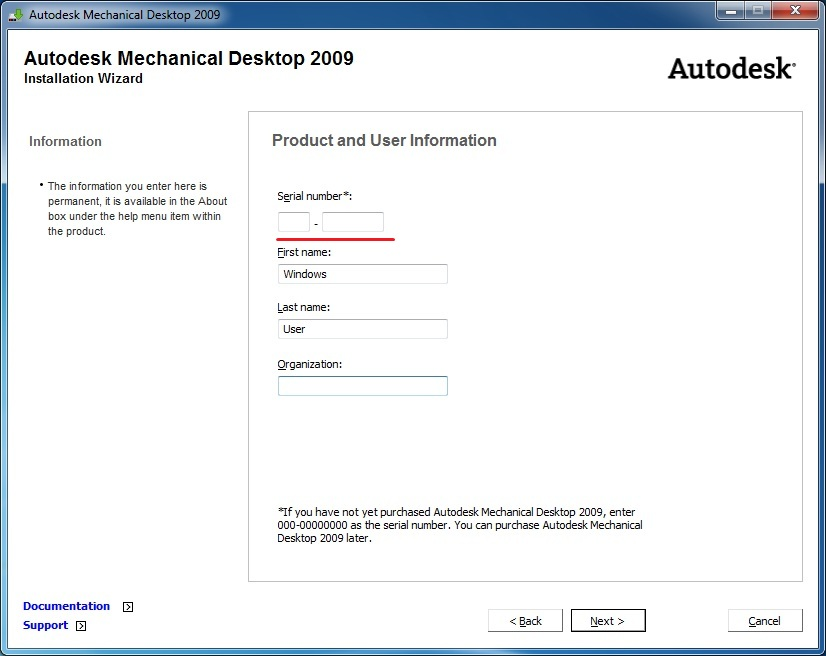 Mechanical Desktop 2009: Installing and licensing it    - Up and Ready