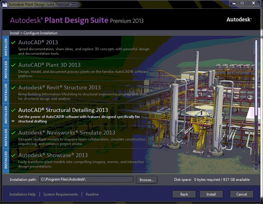 Where Is Autocad P Id In The Autocad Plant Design Suite Up And Ready