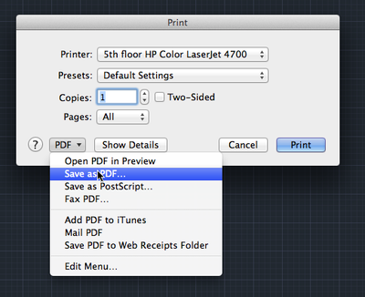 AutoCAD on Mac locking up when printing or saving to PDF