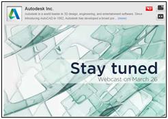 Autodesk-live-stream