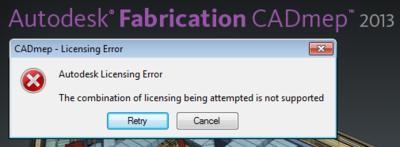 Cad-mep-error