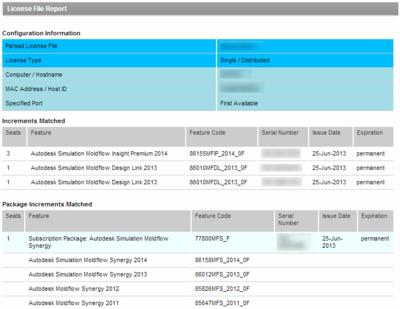 Moldflow_License