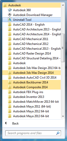 The legendary Quick Uninstall Utility for Autodesk 2014