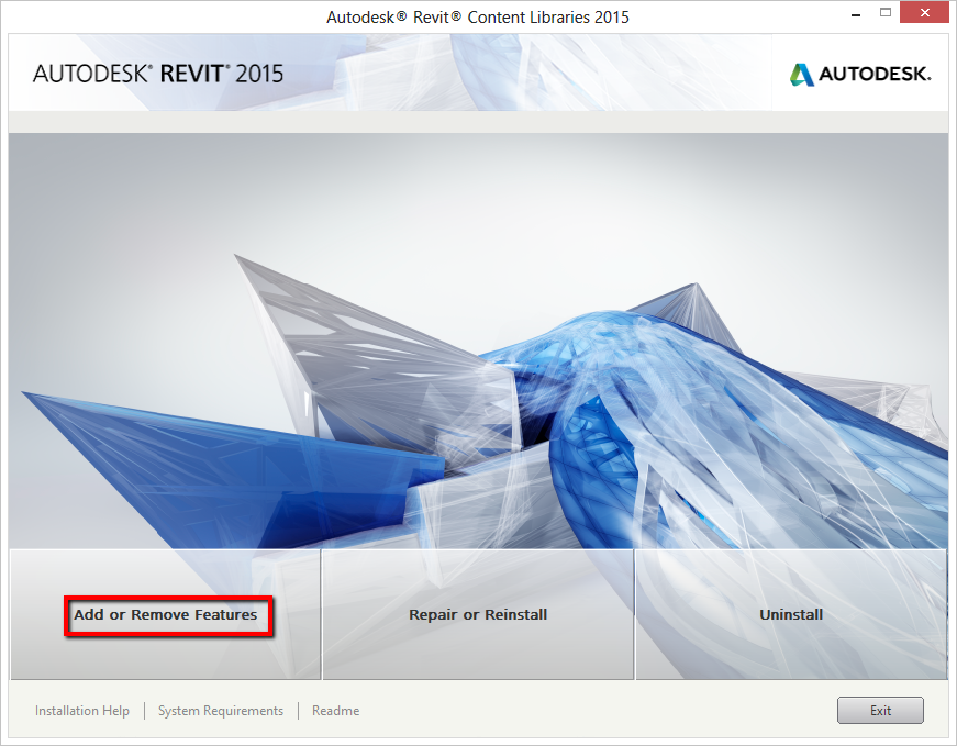 Revit 2015: Templates and families not installed - Up and Ready