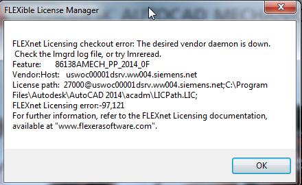 Client -97 Error