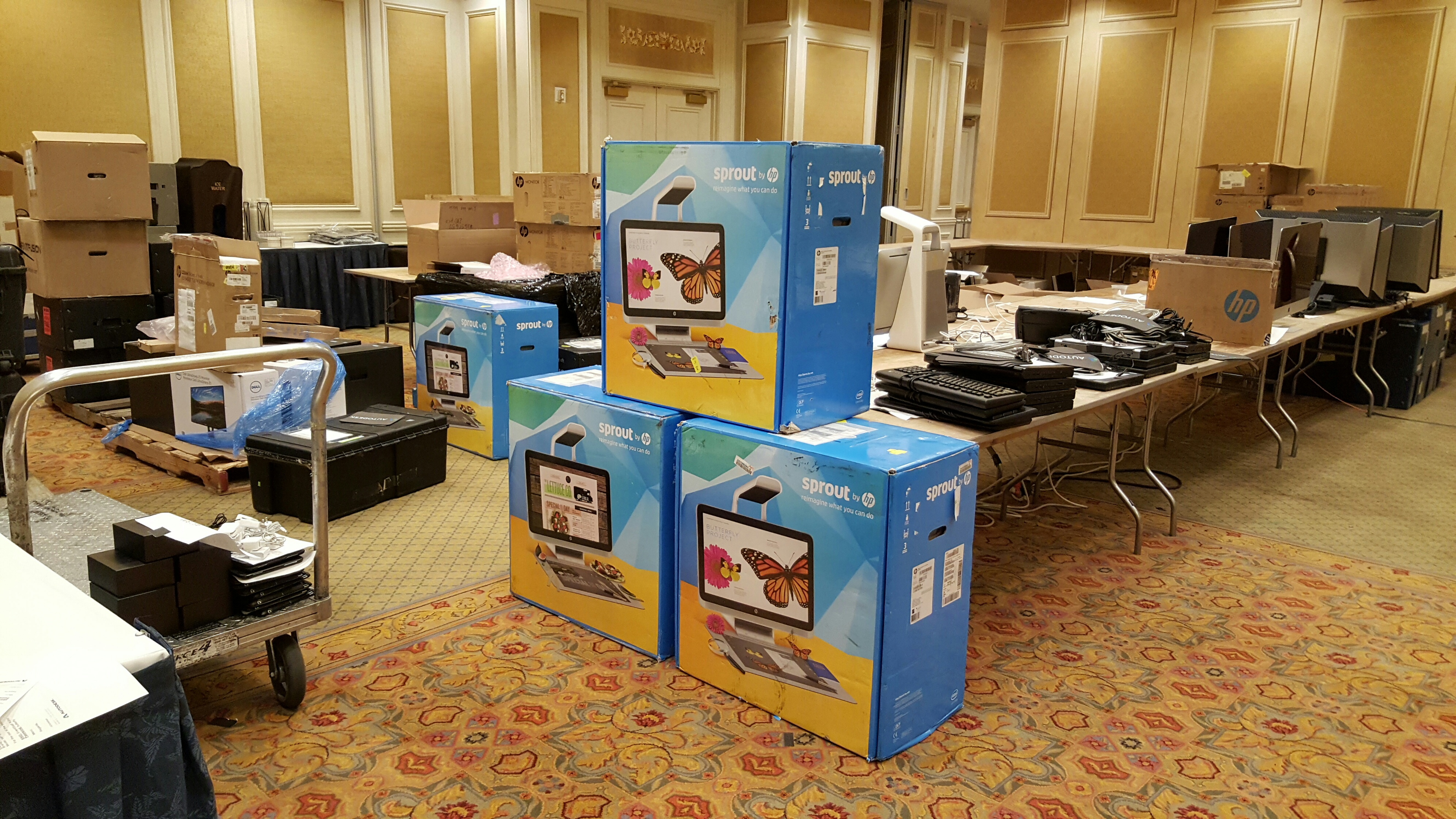 Up and Ready at Autodesk University 2015 - Up and Ready