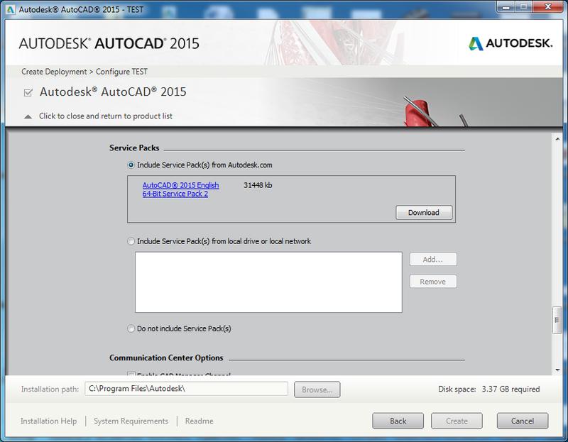 Deploy-AutoCAD-2015